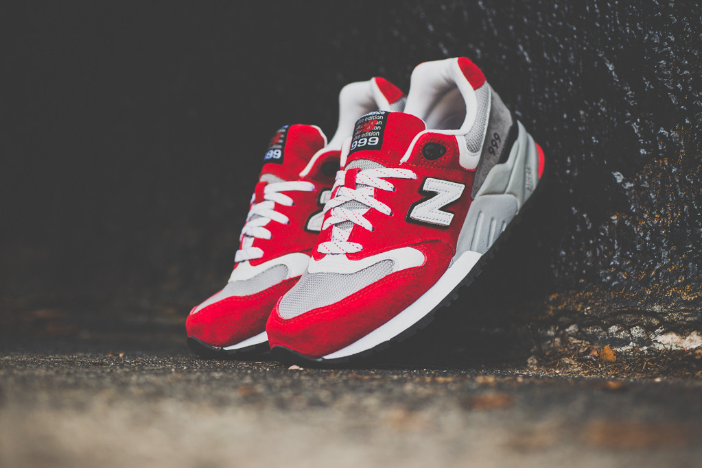 New Balance 999 Elite Edition Red 8