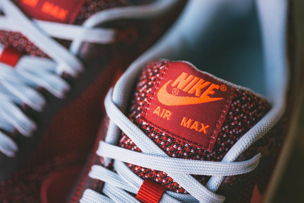 Nike Air Max 1 Jacquard Laser Crimson 3