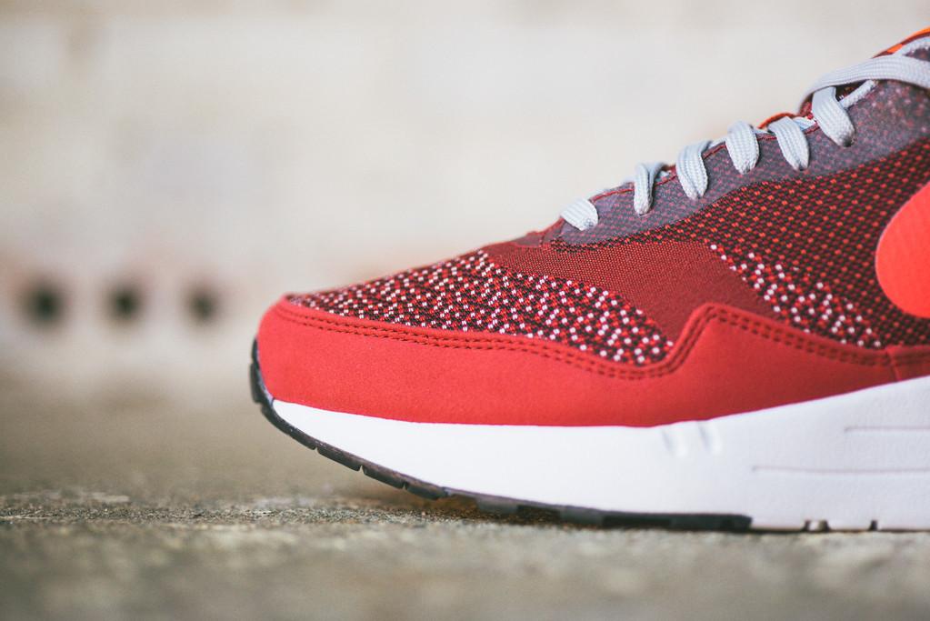 Nike Air Max 1 Jacquard Laser Crimson 5