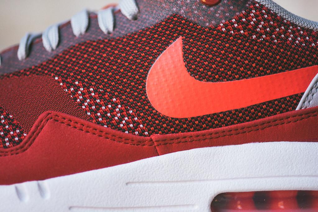 Nike Air Max 1 Jacquard Laser Crimson 6