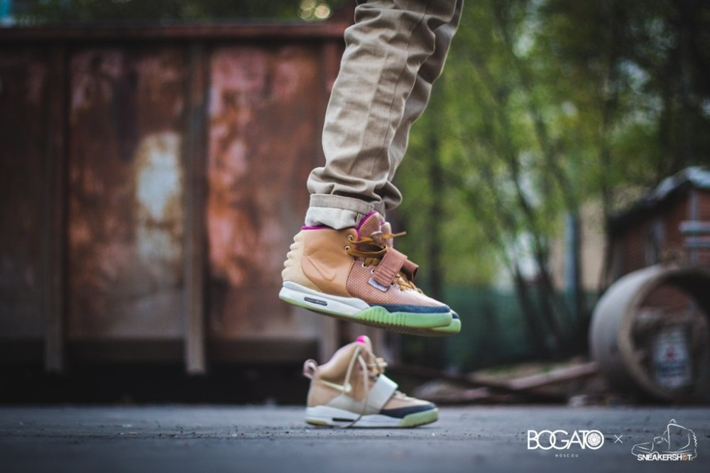 Nike Air Yeezy 2 Net Custom 11 1000x666
