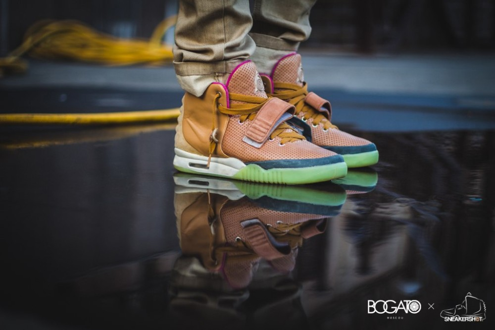 Nike Air Yeezy 2 Net Custom 21 1000x666