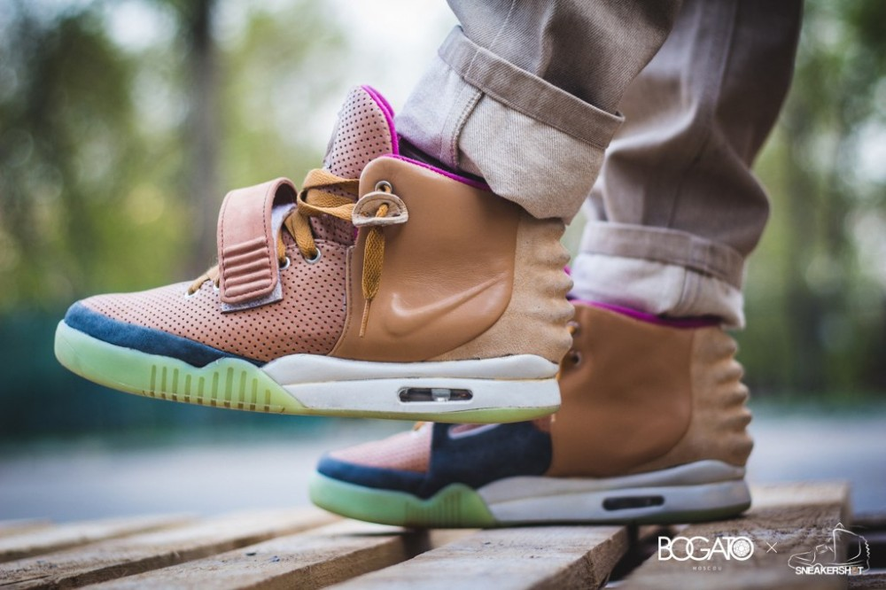 Nike Air Yeezy 2 Net Custom 31 1000x666