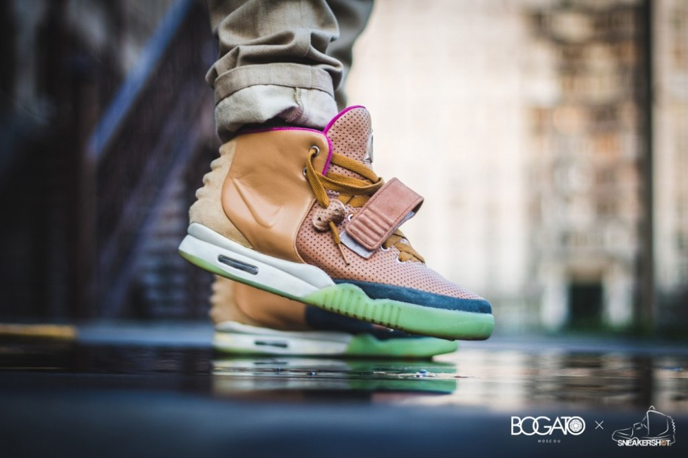 Nike Air Yeezy 2 Net Custom 51 1000x666