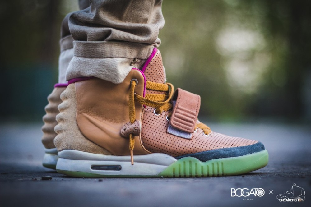 Nike Air Yeezy 2 Net Custom 61 1000x666