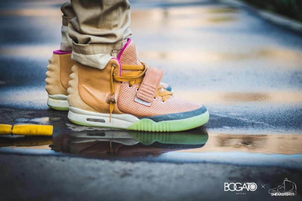 Nike Air Yeezy 2 Net Custom 71 1000x666