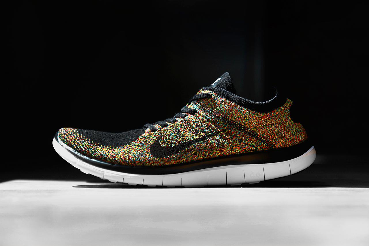 Nike Free 4.0 Flyknit Multicolor 1