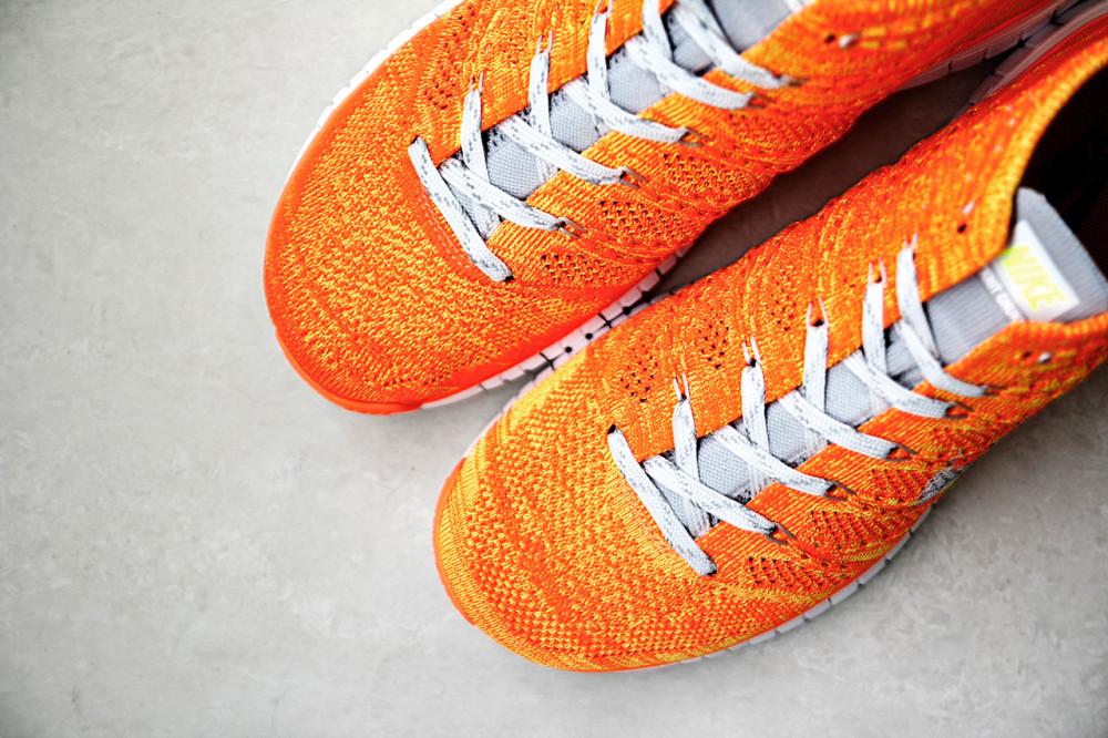 Nike Free Flyknit Chukka Orang Volt 2 1000x666