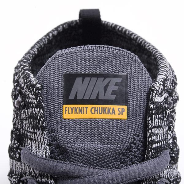 Nike Free Flyknit Chukka SP Black Grey University Gold 6