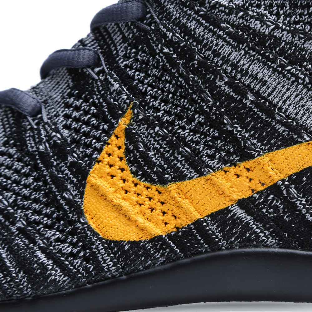 Nike Free Flyknit Chukka SP Black University Gold 6