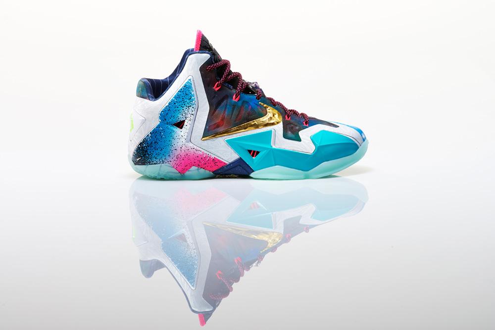 Nike LeBron XI What The LeBron 10