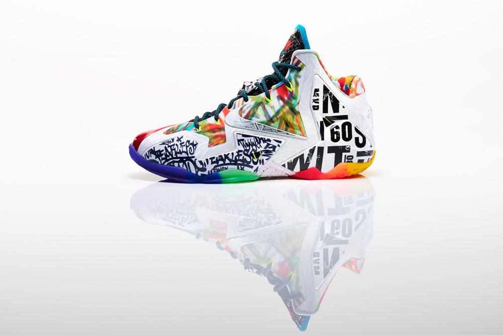 Nike LeBron XI What The LeBron 4