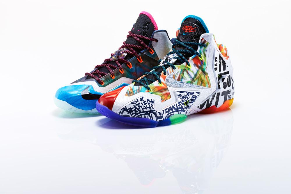 Nike LeBron XI What The LeBron 5