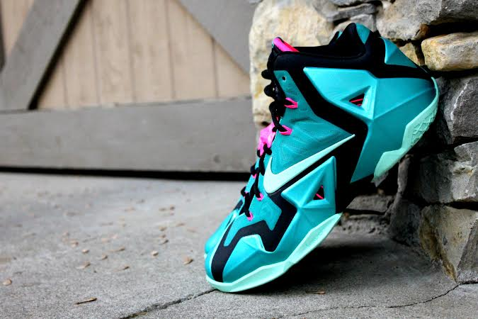 Nike Lebron 11 South Beach 1