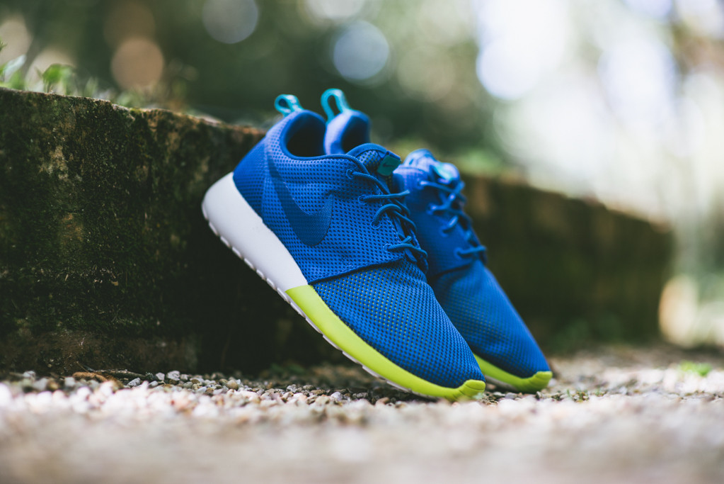 Nike Roshe Run Military Blue 1