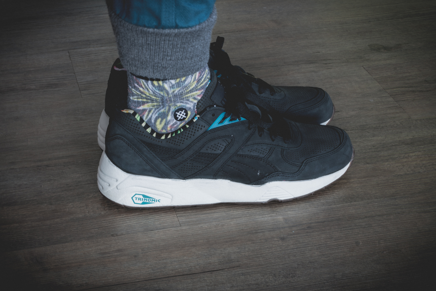 PUMA R698L Tropicalia Pack Black Review 14