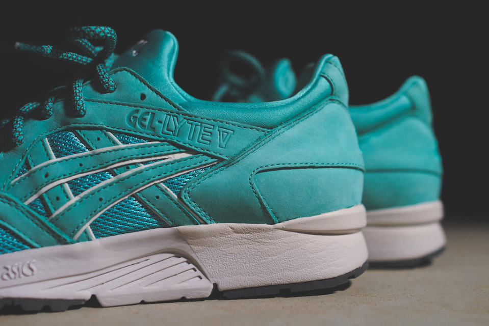 Ronnie Fieg x ASICS Gel Lyte V Cove Mint Leaf 8