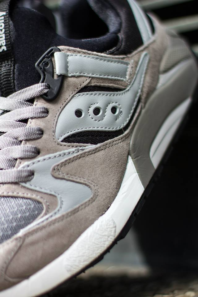 Saucony Grid 9000 Grey Black 2
