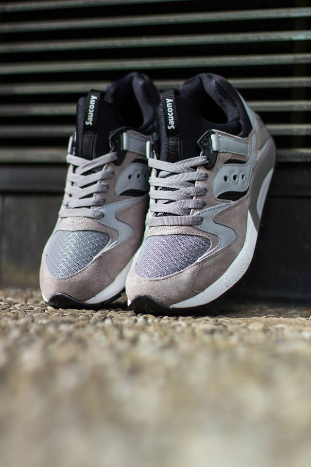 Saucony Grid 9000 Grey Black 3