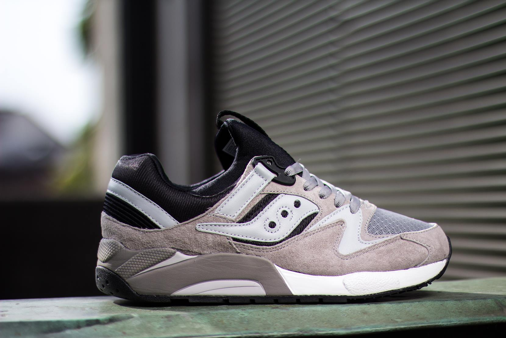 Saucony Grid 9000 Grey Black 4
