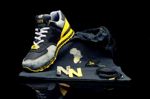 Shelflife x Dr. Zulu x New Balance 574 City of Gold 12