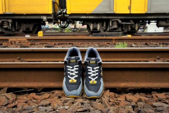 Shelflife x Dr. Zulu x New Balance 574 City of Gold 14