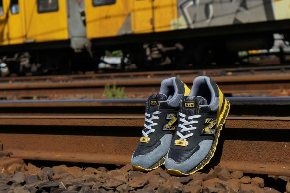 Shelflife x Dr. Zulu x New Balance 574 City of Gold 8
