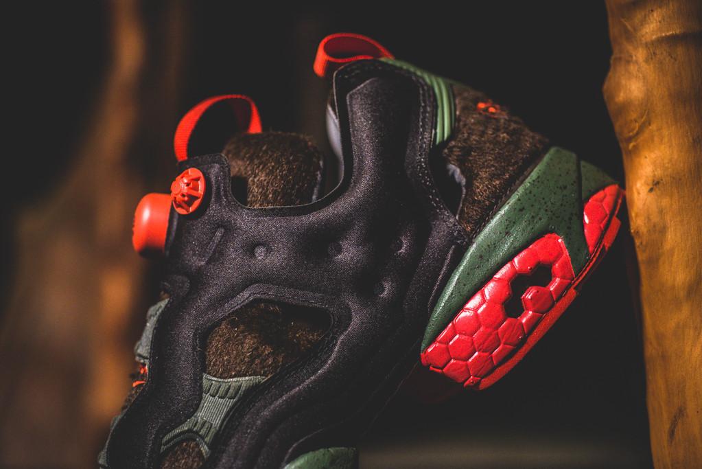 Sneaker Politics x Reebok Instapump Fury Rougarou 11