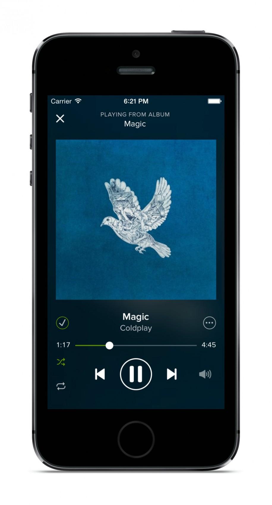 Spotify mit neuem Design und Neuerungen 4