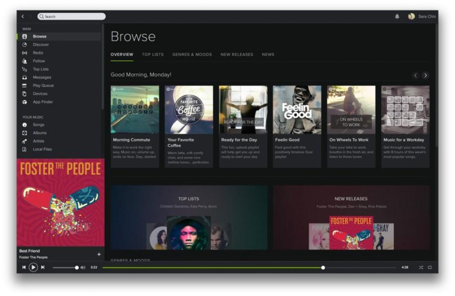 Spotify mit neuem Design und Neuerungen 5