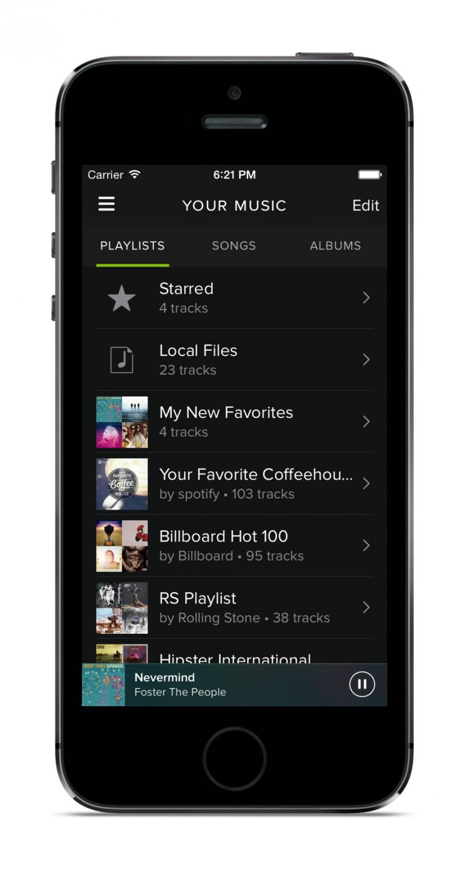 Spotify mit neuem Design und Neuerungen 6