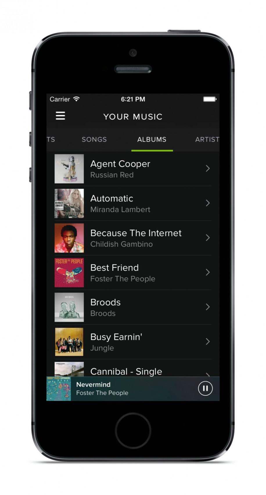 Spotify mit neuem Design und Neuerungen 8