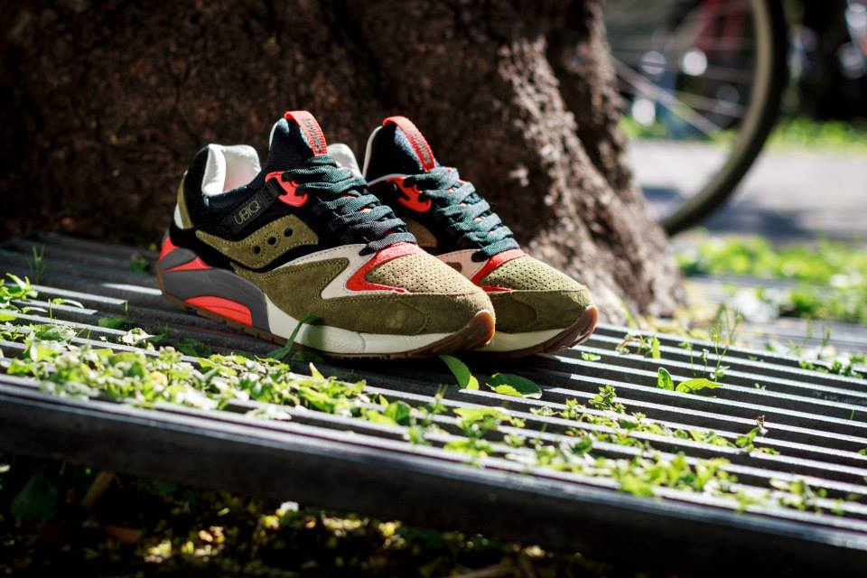 UBIQ x Saucony Grid 9000 Dirty Martini 2