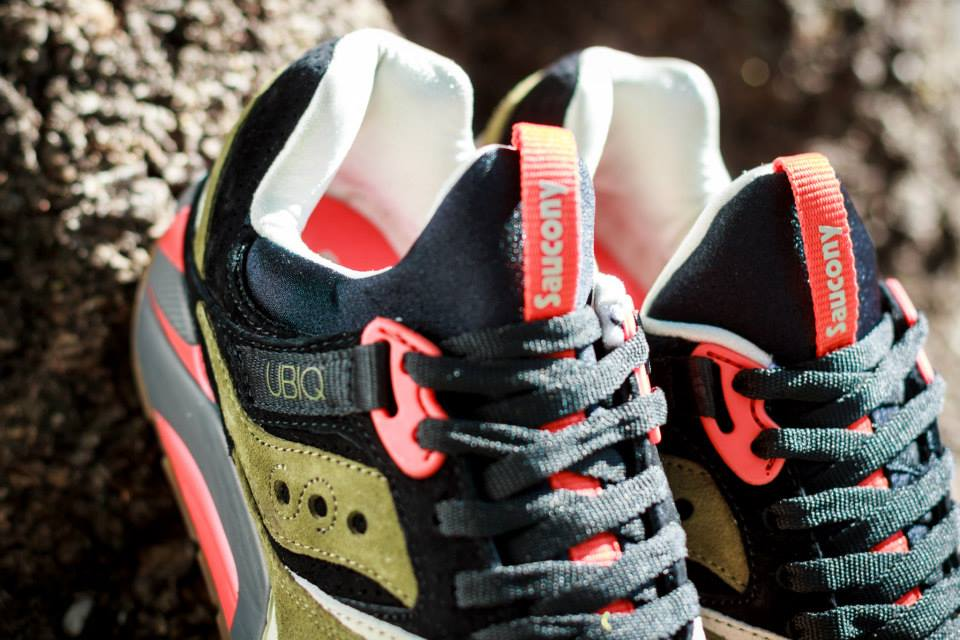 UBIQ x Saucony Grid 9000 Dirty Martini 4