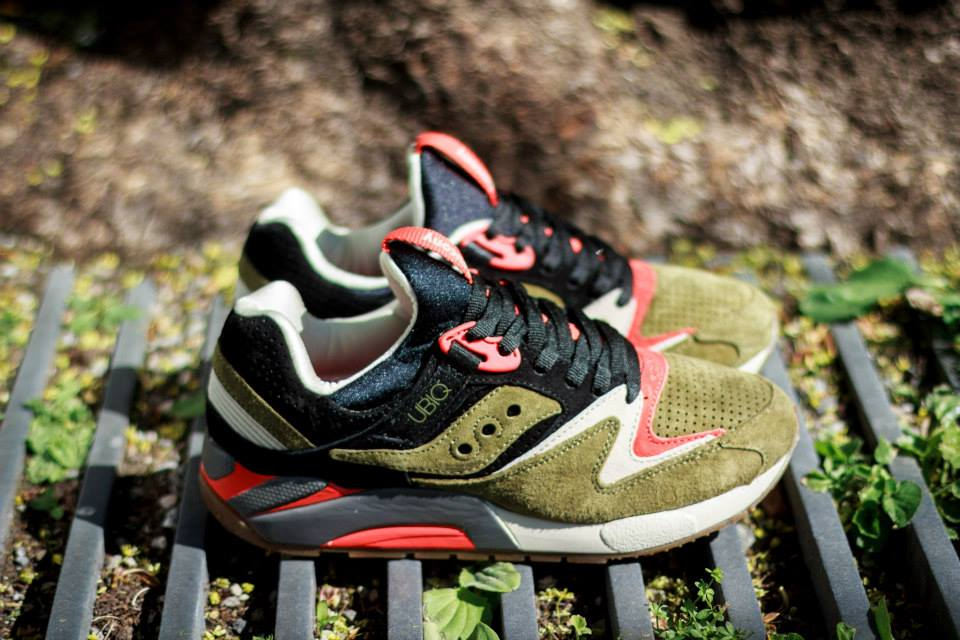 UBIQ x Saucony Grid 9000 Dirty Martini 6