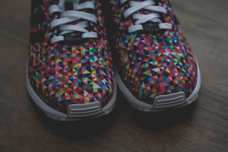 adidas zx flux prism multi 8