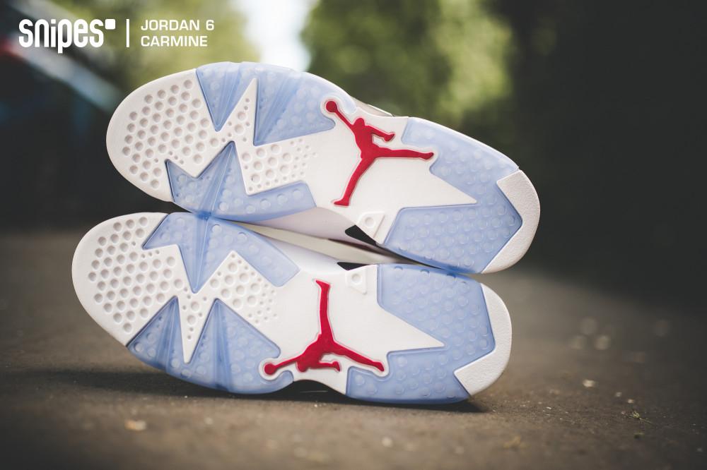 Air Jordan 6 Retro Carmine 11 1000x666