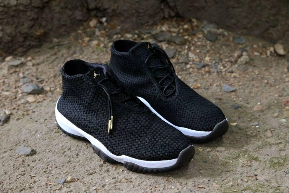 Air Jordan Future Black White 1
