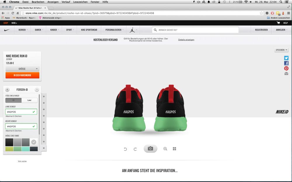 Anleitung Wie erstellt man einen Nike iD 16 1000x625