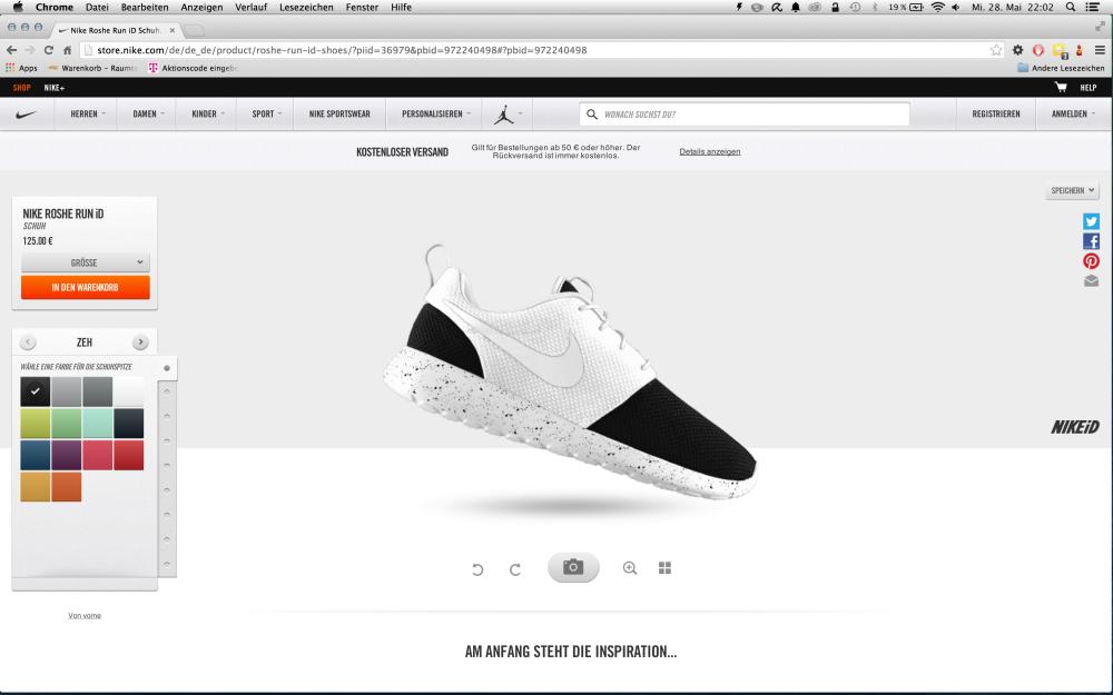 Anleitung Wie erstellt man einen Nike iD 4 1000x625