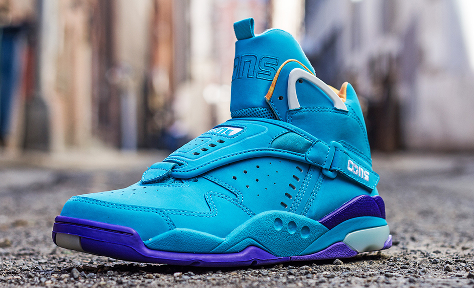 Converse Aero Jam Purple Teal 1