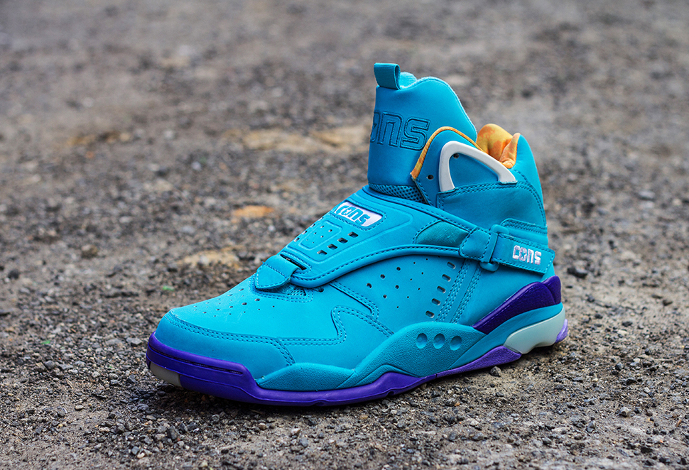 Converse Aero Jam Purple Teal 2