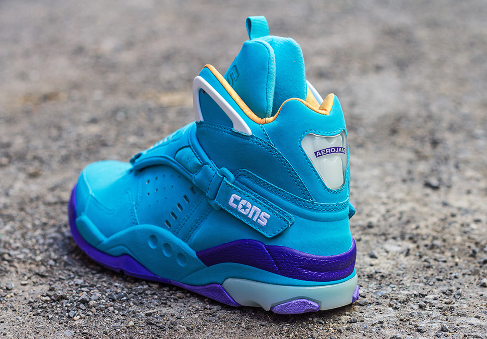 Converse Aero Jam Purple Teal 4