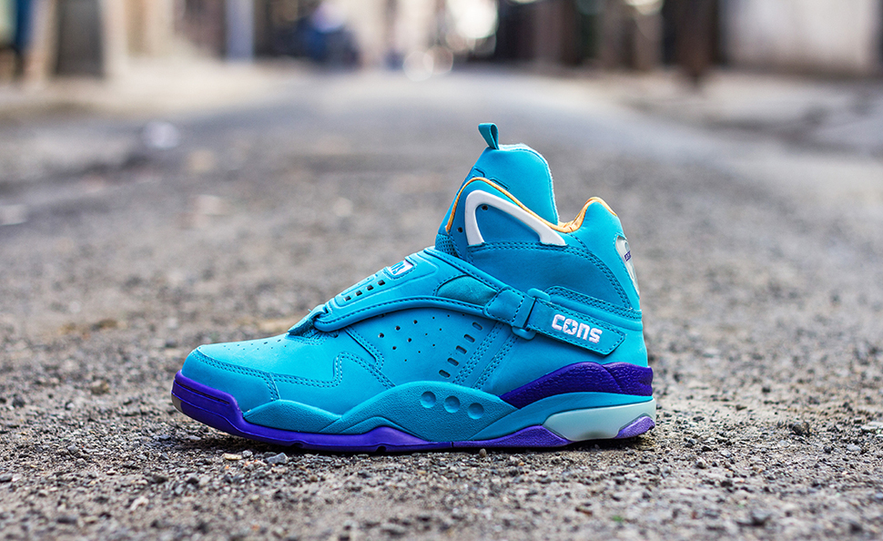 Converse Aero Jam Purple Teal 6