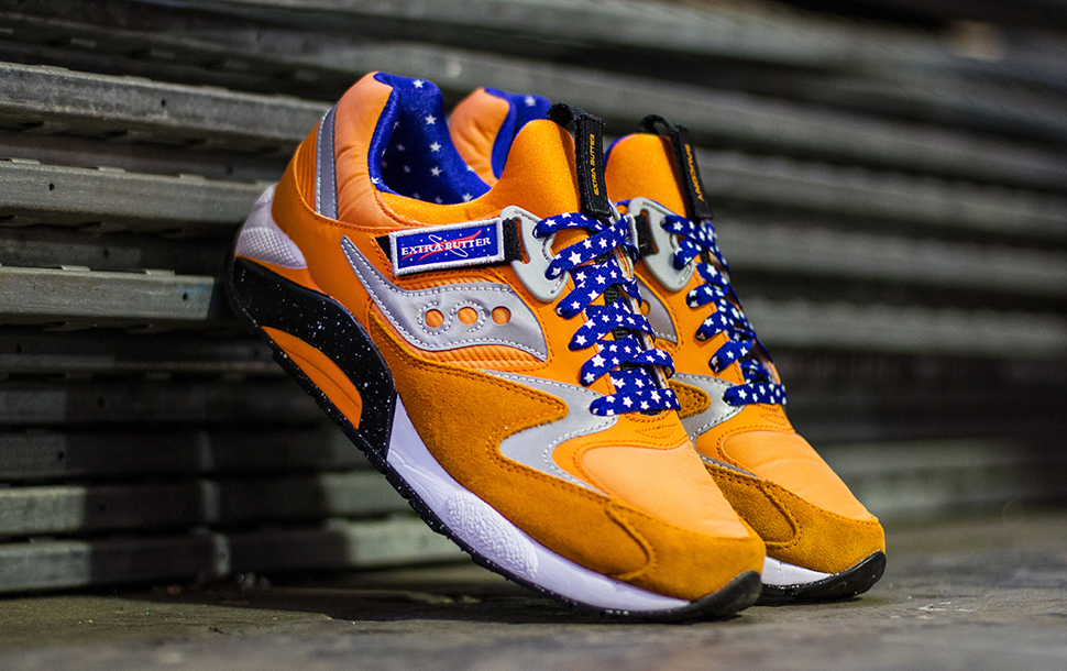 Extra Butter x Saucony Grid 9000 ACES 6