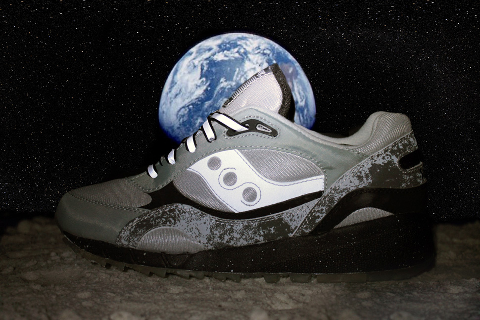 Extra Butter x Saucony Shadow 6000 Moon Walker 9