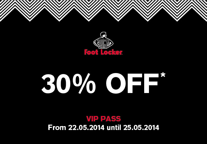 Foot Locker VIP PASS 1