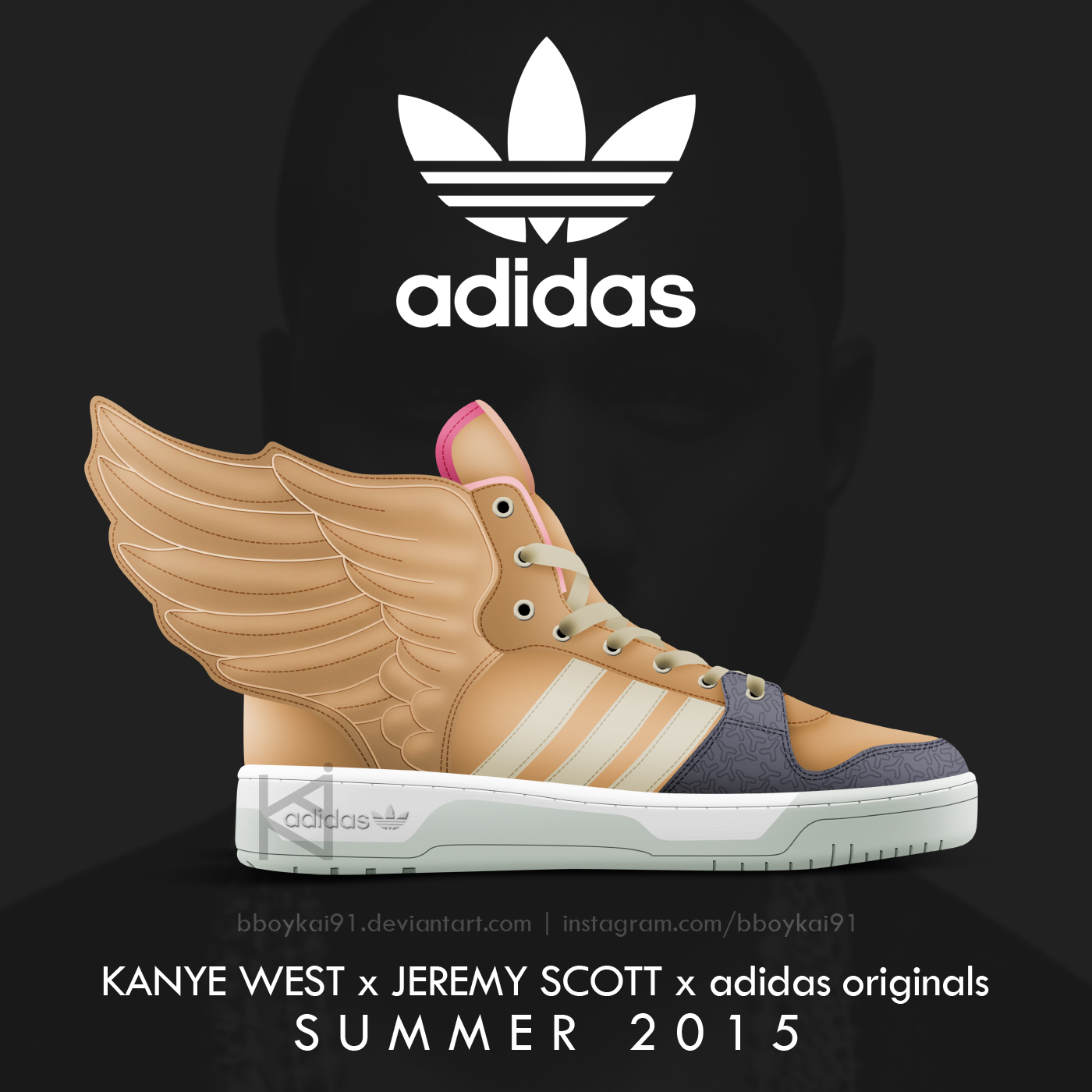 Kanye West x adidas Originals x Jeremy Scott JS Wings 3