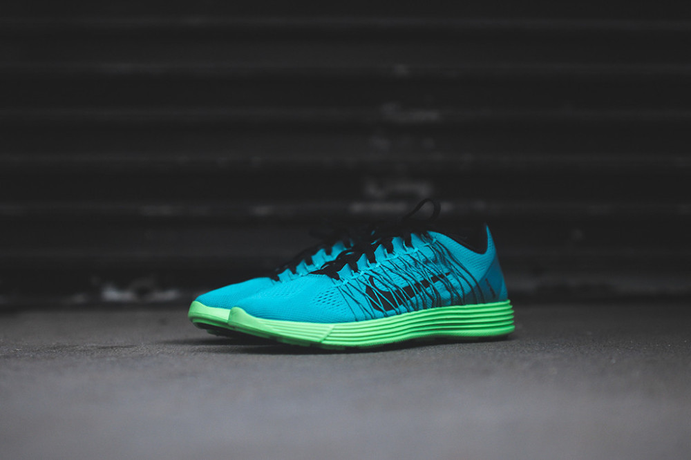 NIKE Lunaracer+ 3 Turbo Green 1 1000x666