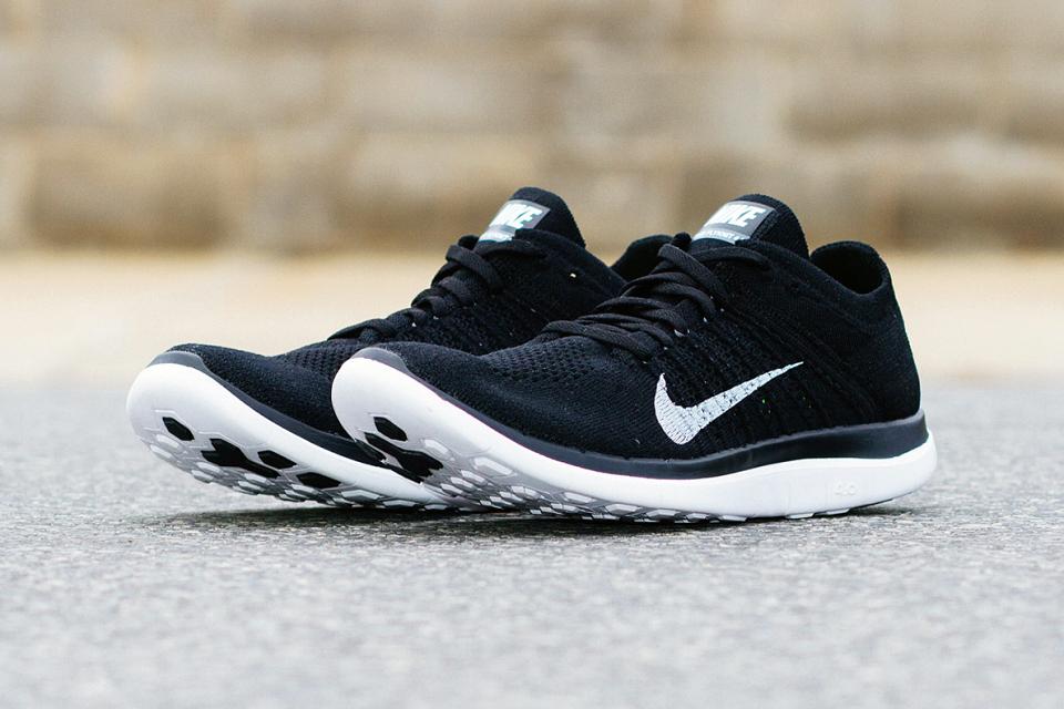 Nike Free 4.0 Flyknit Black 1